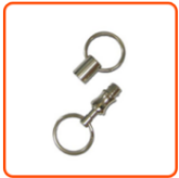 Detachable Metal Keyring